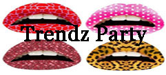 Party lip tattoos